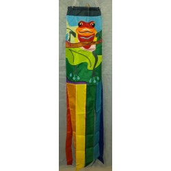 Tropical Frog Windsock